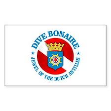 Dive Bonaire (rd) Decal