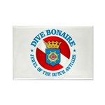 Dive Bonaire (rd) Rectangle Magnet (10 pack)
