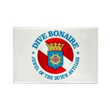 Dive Bonaire (rd) Rectangle Magnet