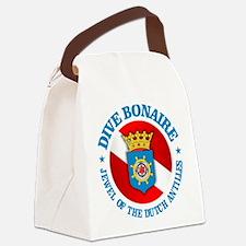 Dive Bonaire (rd) Canvas Lunch Bag