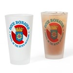 Dive Bonaire (rd) Drinking Glass