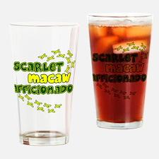 afficionado_scarlet Drinking Glass
