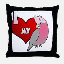 iheartmy_galah Throw Pillow