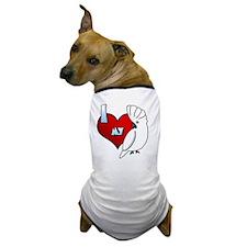 iheartmy_umbrella Dog T-Shirt