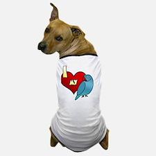 iheartmy_IRNblue Dog T-Shirt
