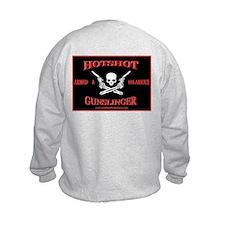 HOTSHOT'S Sweatshirt printed F & B