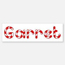 Garret - Candy Cane Bumper Bumper Bumper Sticker