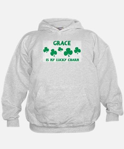 Grace is my lucky charm Hoodie