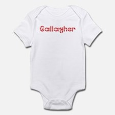 Gallagher - Candy Cane Infant Bodysuit