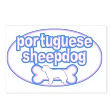 cutesy_portsheep_oval Postcards (Package of 8)