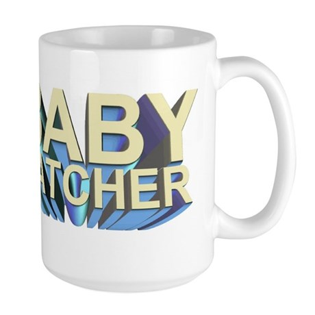 Baby catcher - for midwives - Large Mug