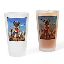 pugzilla_ornament Drinking Glass
