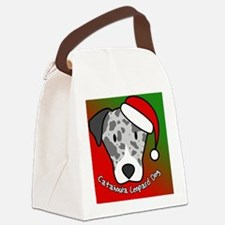 anime_catahoula_ornament Canvas Lunch Bag