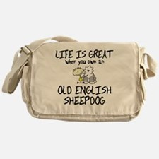 lifeisgreat_oes Messenger Bag