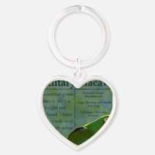 military_parrotwear Heart Keychain