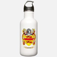 Kook Coat of Arms - Family Crest Water Bottle