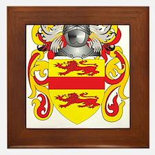 Kook Coat of Arms - Family Crest Framed Tile