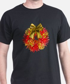 Southwestern Wreath of Chile Peppers  T-Shirt
