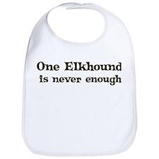 One Elkhound Bib