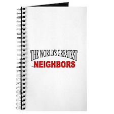 """The World's Greatest Neighbors"" Journal"