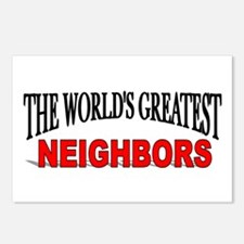 """The World's Greatest Neighbors"" Postcards (Packag"