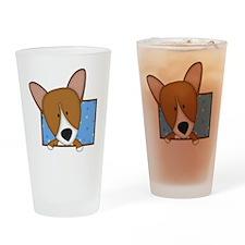 corgi_drawing Drinking Glass