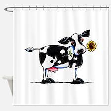 Sunny Cow Shower Curtain