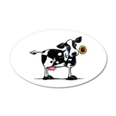 Sunny Cow Wall Decal