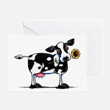 Sunny Cow Greeting Card
