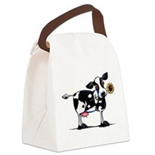 Sunny Cow Canvas Lunch Bag