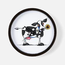 Sunny Cow Wall Clock