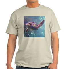 sea turtle 2 Ash Grey T-Shirt