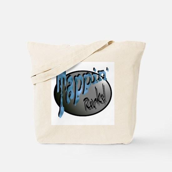 Tappin' Rocks! Tote Bag