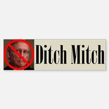 Ditch Mitch Bumper Bumper Bumper Sticker