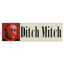 Ditch Mitch Bumper Sticker - No Mitch