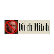 Ditch Mitch Car Magnet - No Mitch