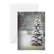 Military Christmas Gifts Greeting Cards (Package o