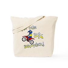 moto_bigbrother_blk Tote Bag