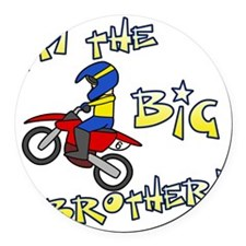 moto_bigbrother Round Car Magnet