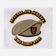 Special Air Service - UKSF Throw Blanket