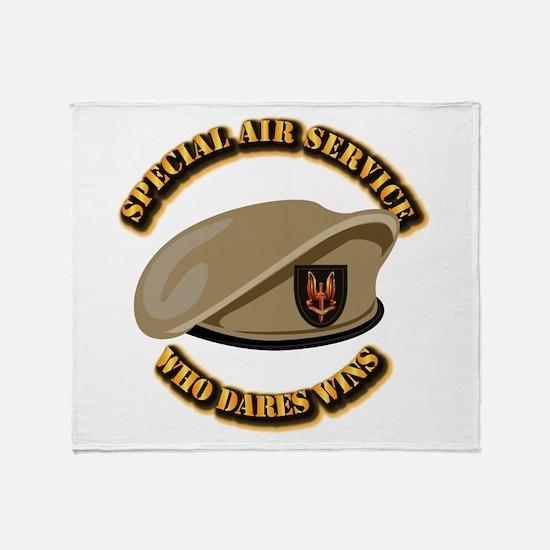 Special Air Service - UKSF Throw Blanket