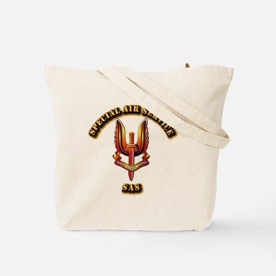 Special Air Service - UKSF Tote Bag