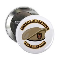 """Special Air Service - UKSF 2.25"""" Button"""