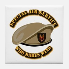 Special Air Service - UKSF Tile Coaster