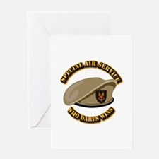 Special Air Service - UKSF Greeting Card