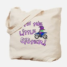 moto_littlesister Tote Bag