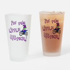moto_littlesister Drinking Glass