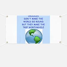ukuleles Banner
