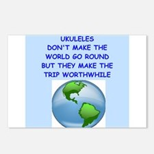 ukuleles Postcards (Package of 8)