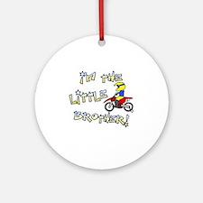 moto_littlebrother Round Ornament